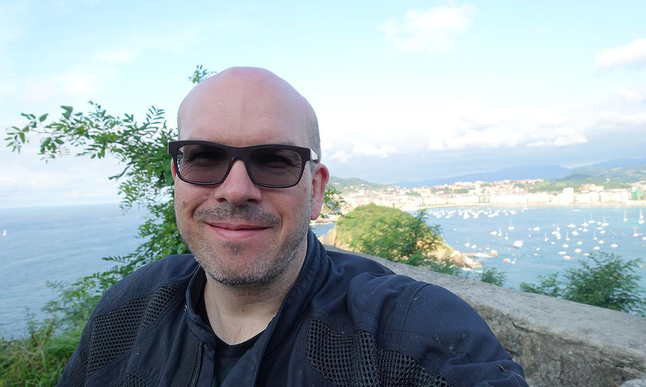M. Jazt à Saint Sebastien en Espagne