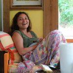 Agathe, stagiaire de surf à sosutons