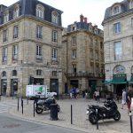 près de la place de la Bourse à Bordeaux