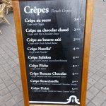 prix des crêpes à Bordeaux