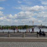 vue depuis la place de la Bourse à Bordeaux