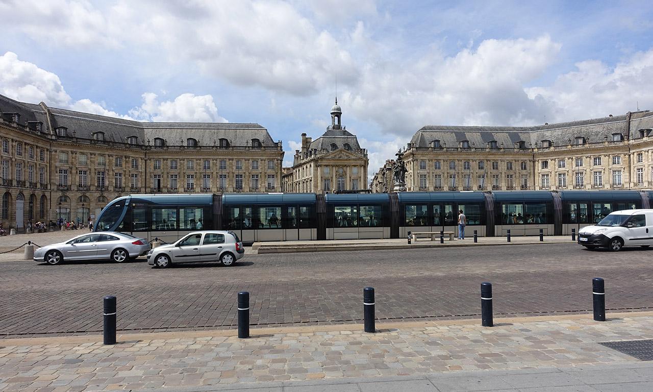 tram à Bordeaux