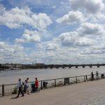 les bords de l'eau à Bordeaux