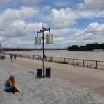 au bord de l'eau à Bordeaux