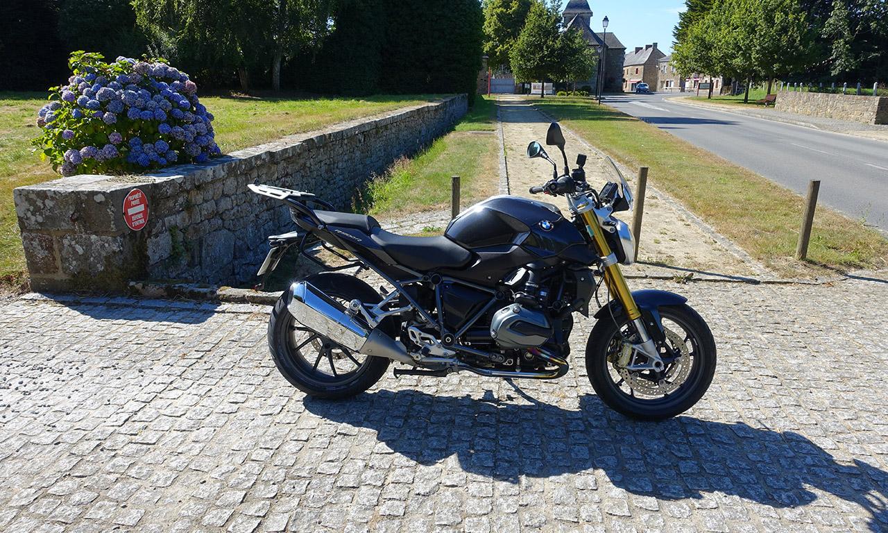BMW R1200R de David Jazt : 8000km en 2 mois et demi