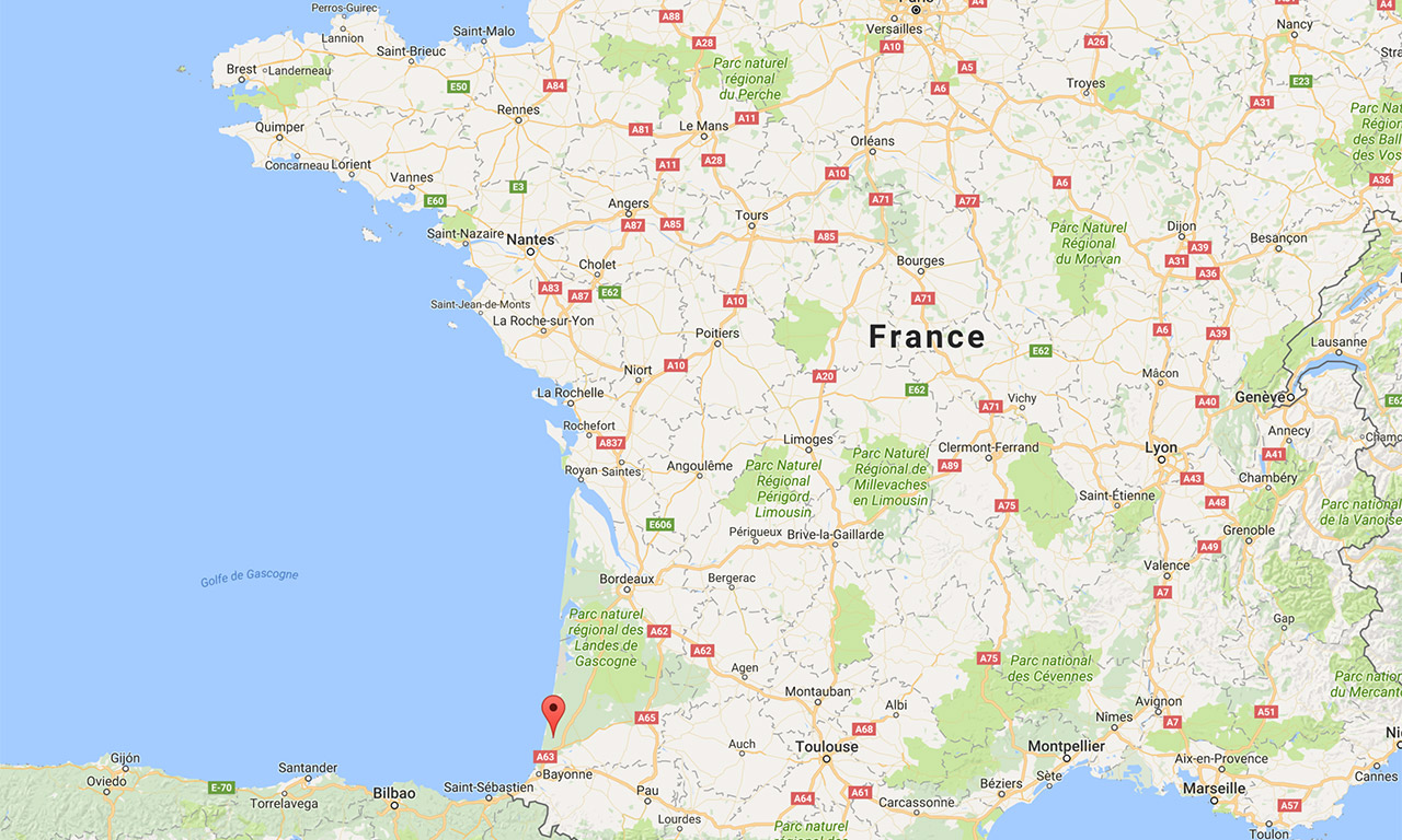 Où se trouve Soustons en France ?