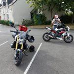 sortie moto Jean-Claude avec le R12R