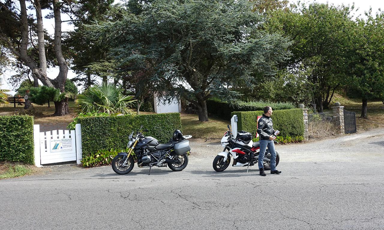 sortie moto avec Jean-Claude