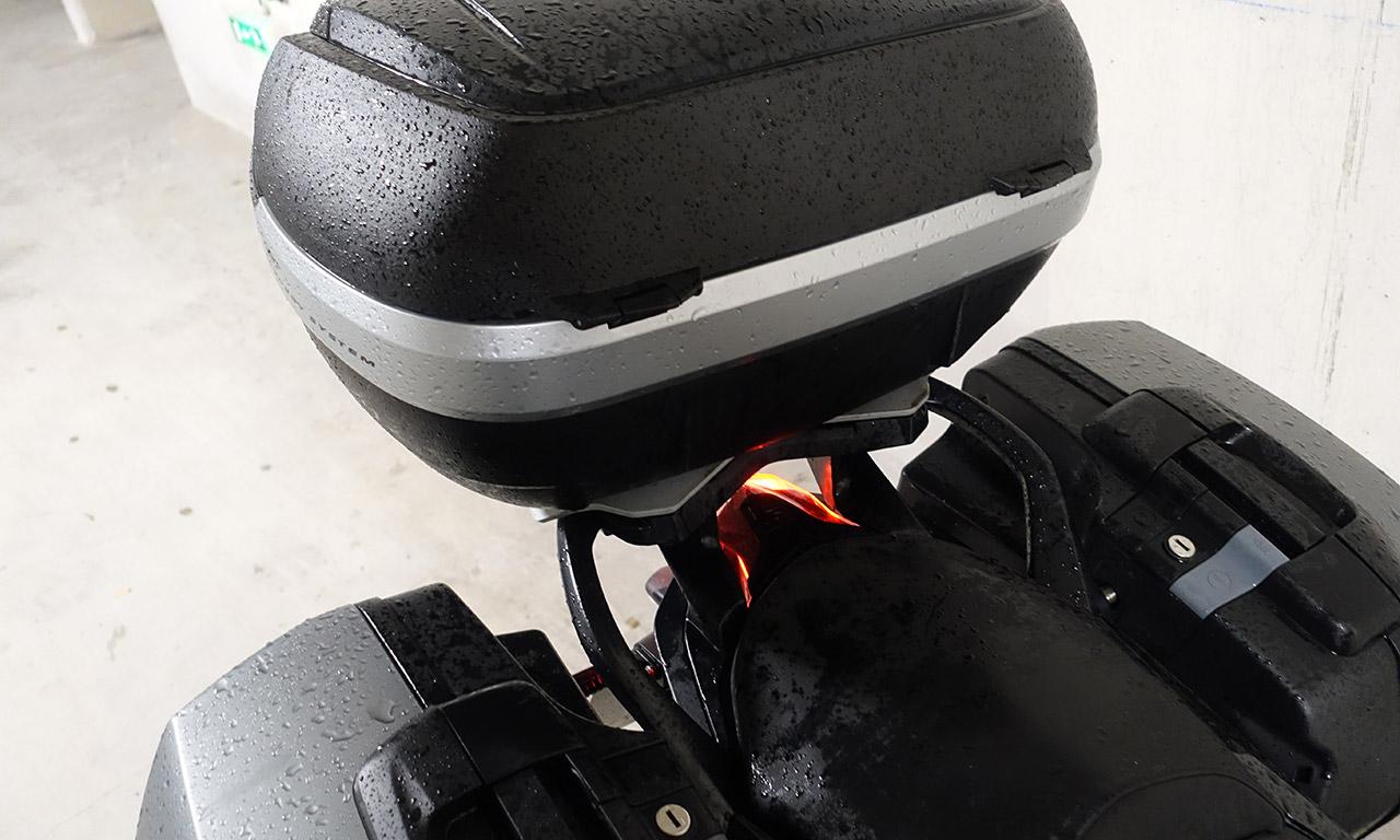 valise et top case BMW R1200R