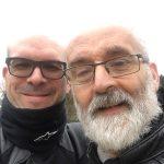 David Jazt & Jef, motards en moto BMW