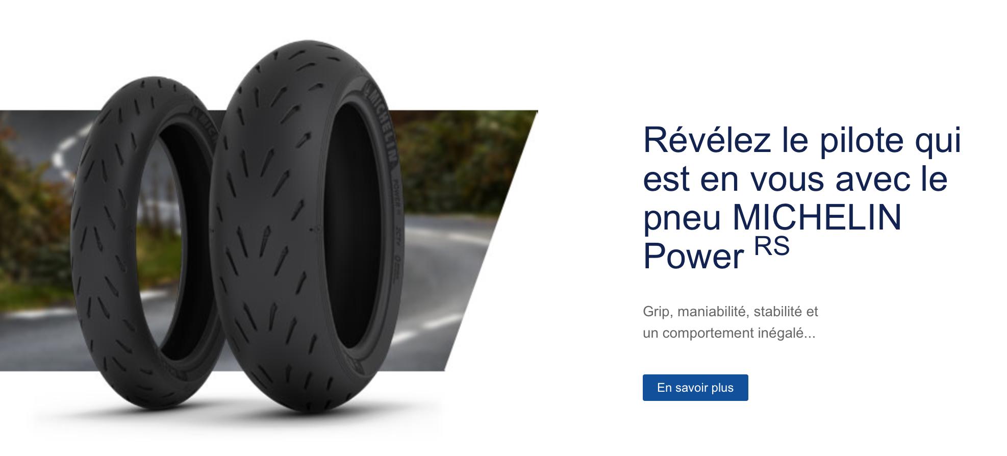 Acheter pneu moto Michelin Power RS