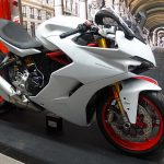 DUCATI SUPERSPORT blanche et rouge