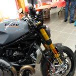 fourche or pour le Monster 1200 S de chez Ducati