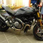 Ducati Monster 1200 S grise