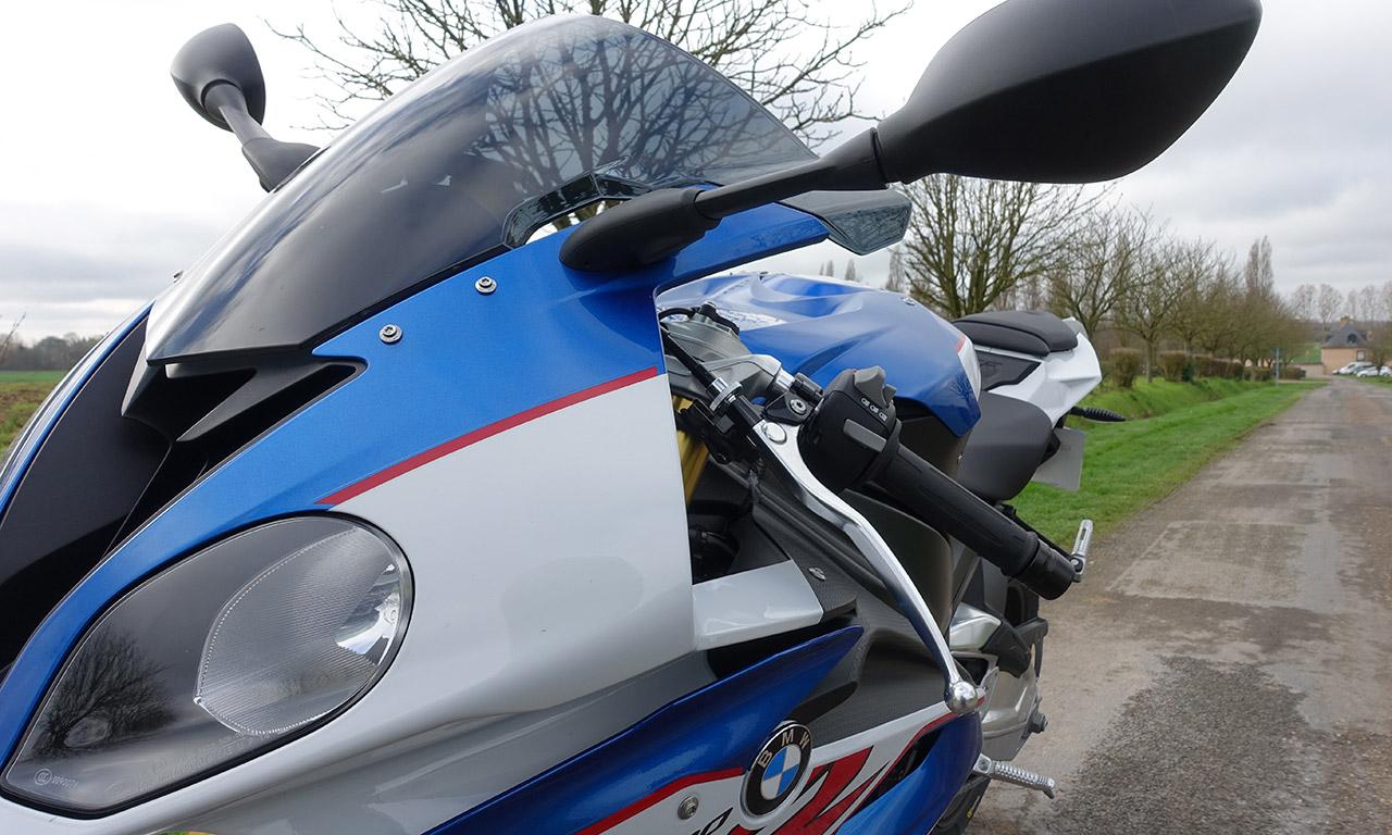 S1000RR 2017 bleue et blanche