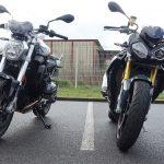 Comparatif moto : S1000R contre le R1200R
