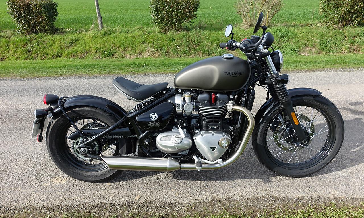 Bobber Triumph 1200 Bonneville