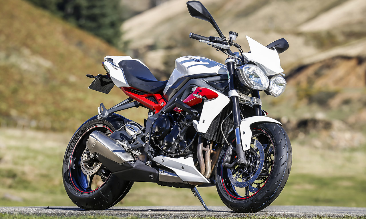 Street Triple 675 R en Michelin Power RS