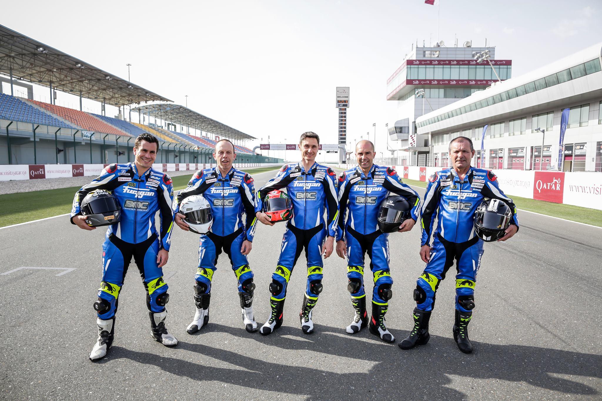 BMC moto à Doha sur le circuit de Losail