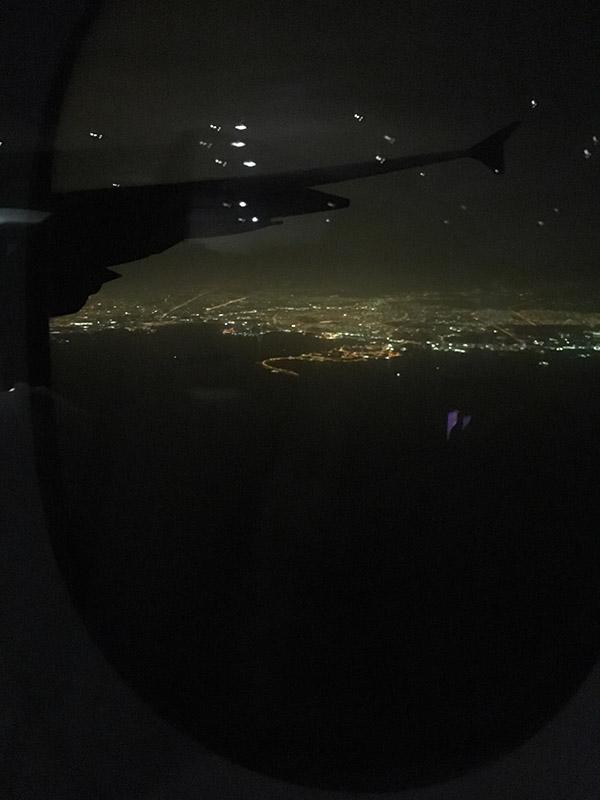Arrivée au Qatar à Doha à 23h30