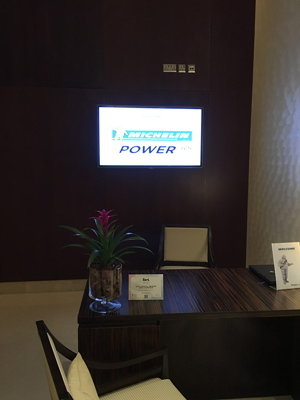 Shangri la doha pour Michelin Power RS