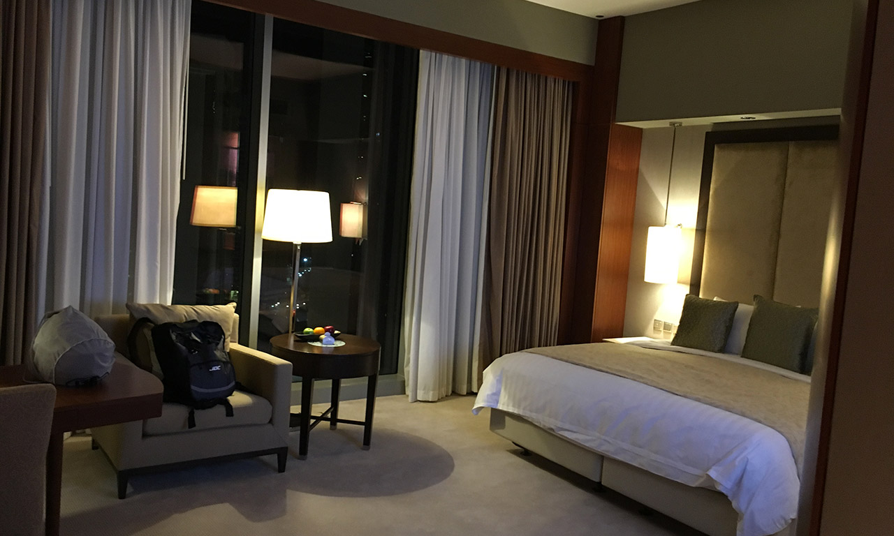 Chambre suite junior au shangri la doha de David Jazt