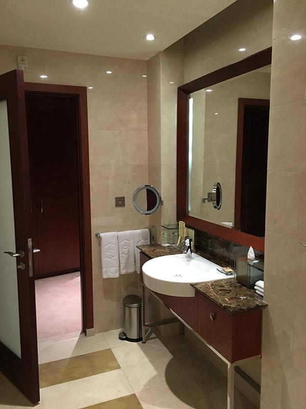 Salle de bain au shangri la doha