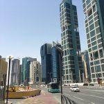 le centre ville de Doha le 31 mars 2017