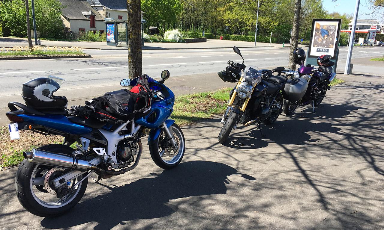 moto à Rennes