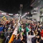 pit stop et remise de prix au Grand Prix de Losail sous la pluie