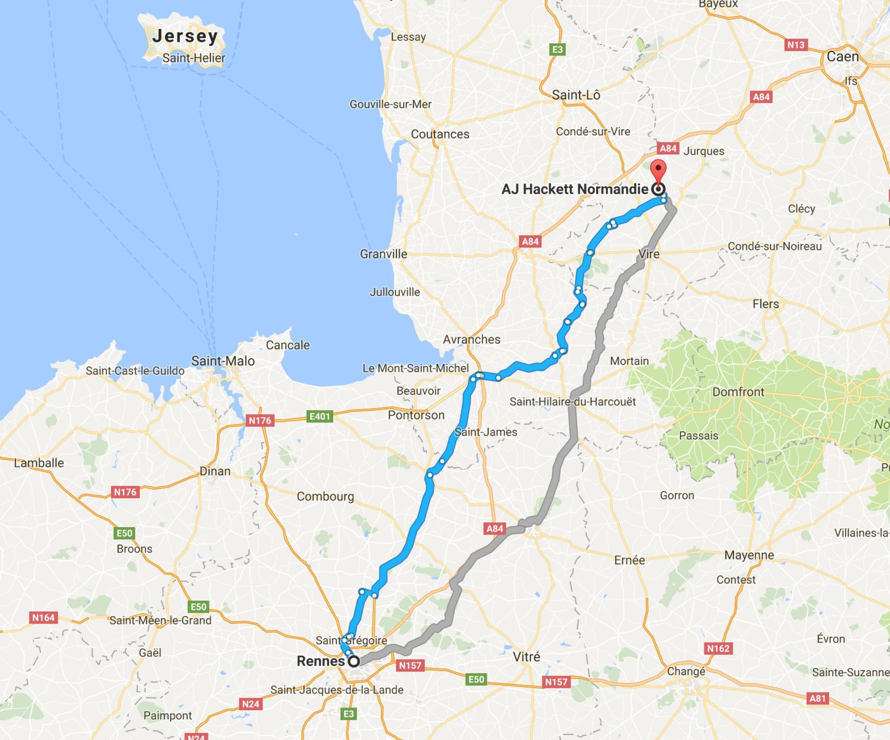Viaduc de la Souleuvre depuis Rennes
