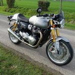 moto Thruxton R à Rennes