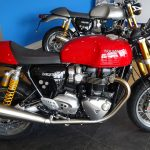 thruxton r rouge