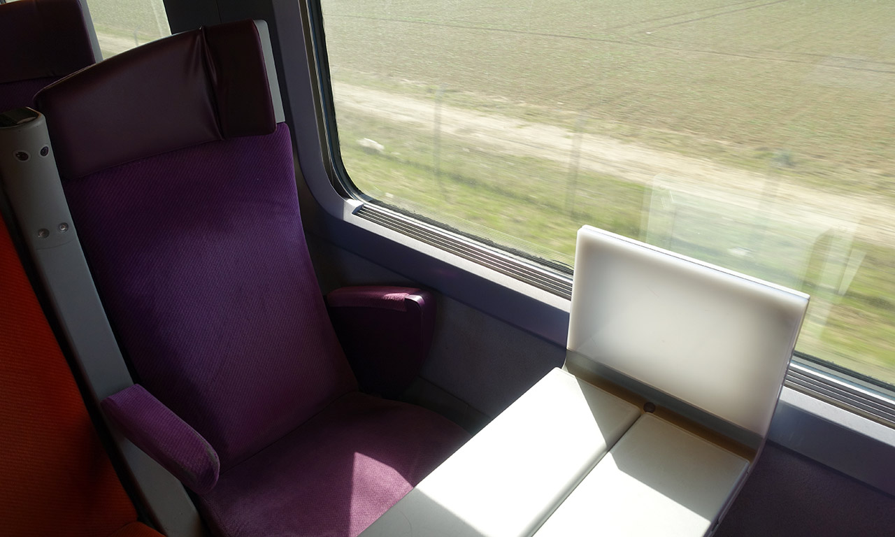 train direct entre Rennes et Roissy Charles de Gaulle