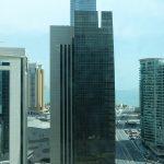 vue de la chambre du 20è au Shangri-La Doha