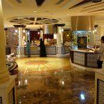Restaurant du Shangri-la hotel pour le petit déjeuner