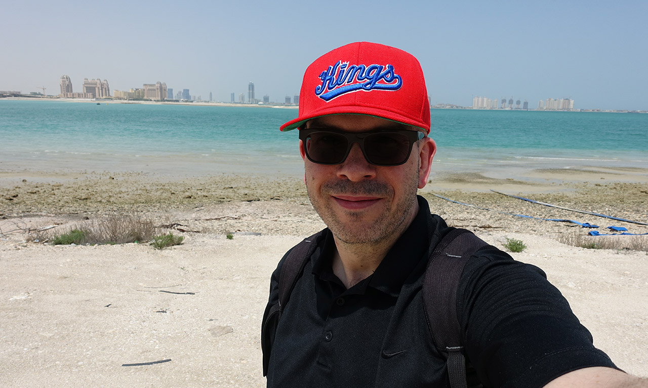 David Jazt à Doha (Qatar)