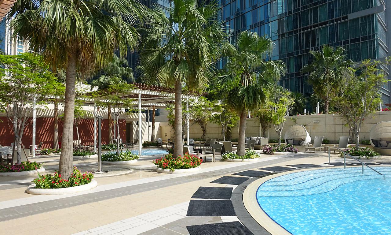 piscine exterieure au Shangri-La Doha