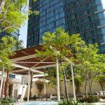 jacuzzi extérieur au Shangri-La Doha