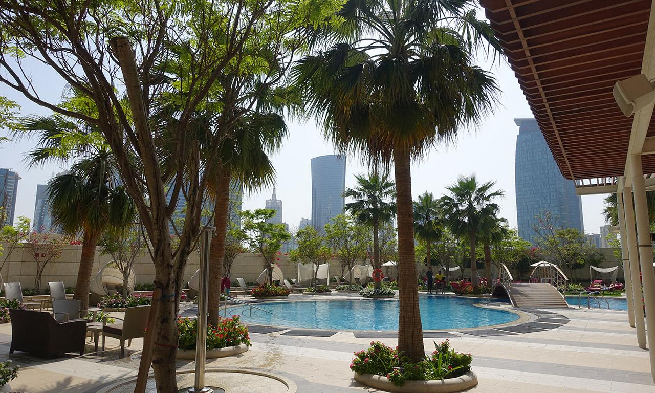 piscine du Shangri-La Doha