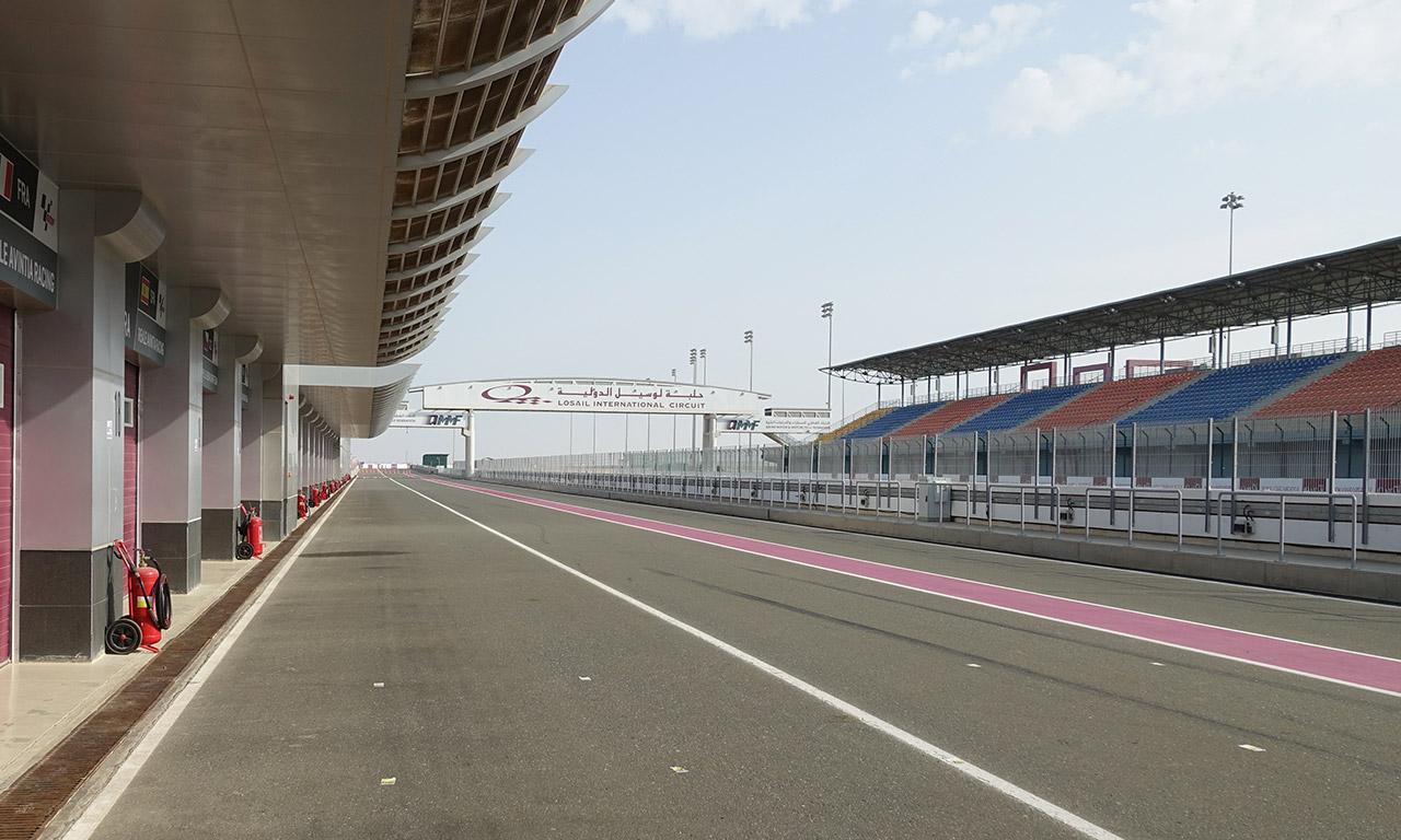 Circuit de Losail au Qatar