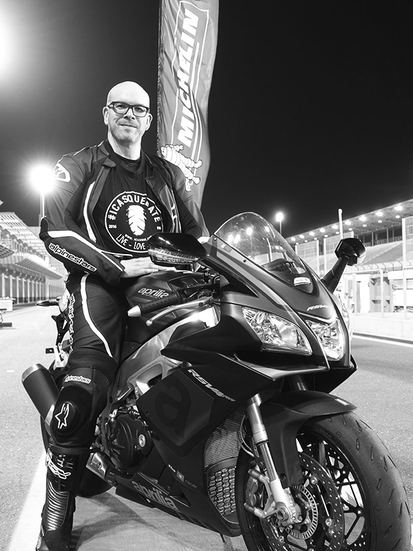 David Jazt sur une RSV4 RR - Power RS Michelin