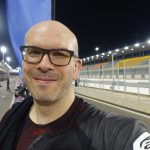 David Jazt sur le circuit de Losail : invitation par Michelin
