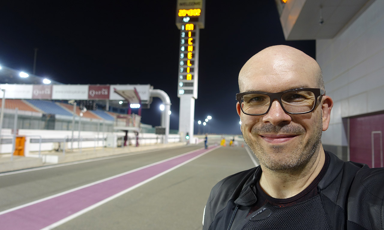 David Jazt - essai pneu moto Michelin Power RS à Losail au Qatar
