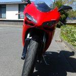 Vue avant du 848 Ducati Hyper Sportive