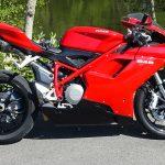 Ducati 848 rouge