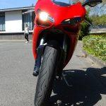Face avant Ducati 848