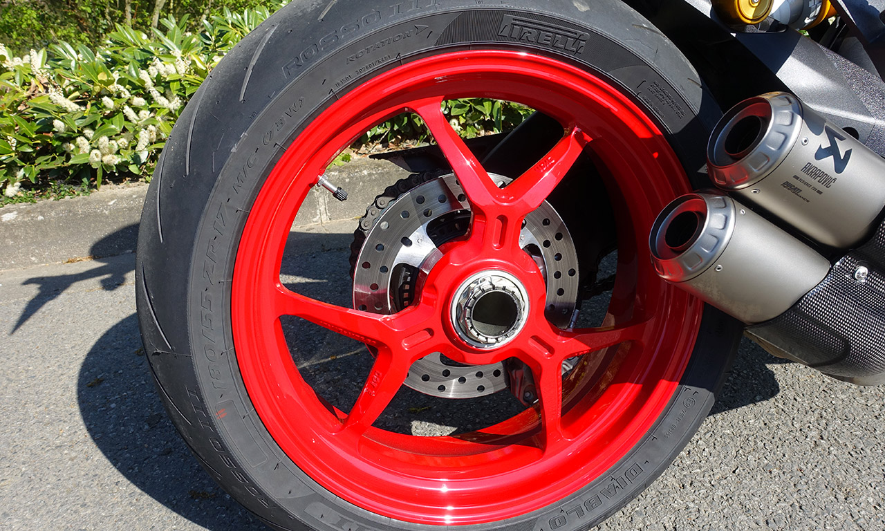 jante arrière SuperSport S Ducati