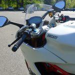 position de conduite sur le Super Sport S Ducati