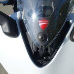 position haute sur la bulle du Super Sport
